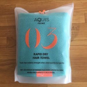Aquis Prime Lisse 03 Rapid Dry Hair Towel